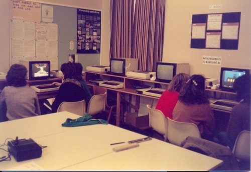 University Of Cumbria Computer Room